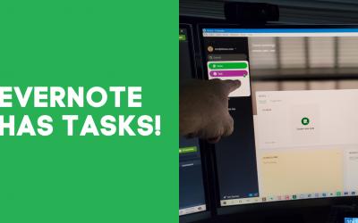 Evernote Has Tasks!